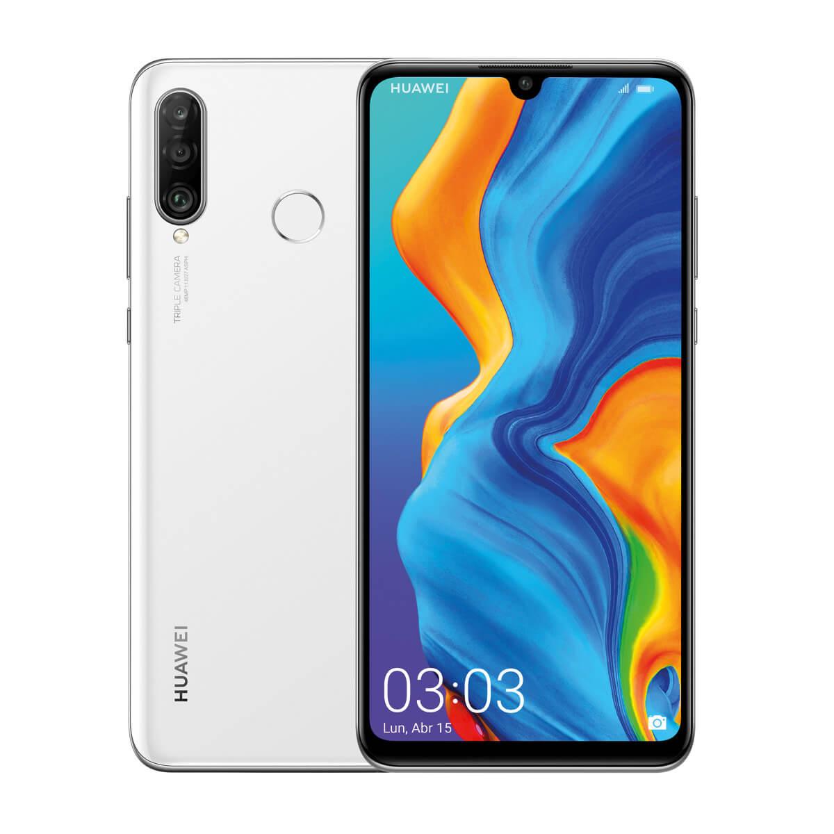Huawei P30 Lite 4/128GB Blanco