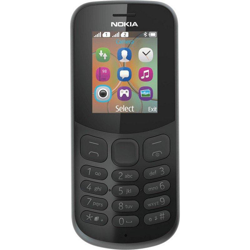 Nokia 130 (2017) Dual-SIM Negro