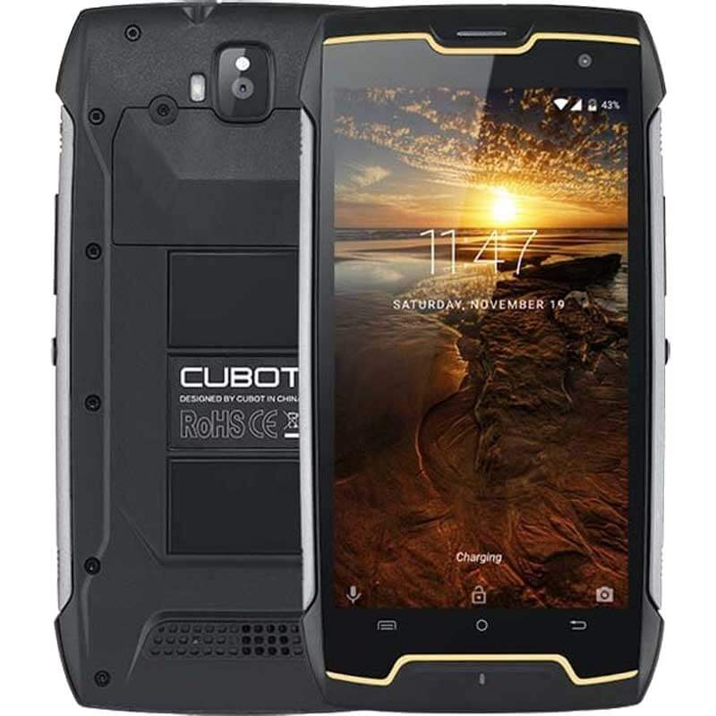 Cubot King Kong 16GB Dual-SIM negro