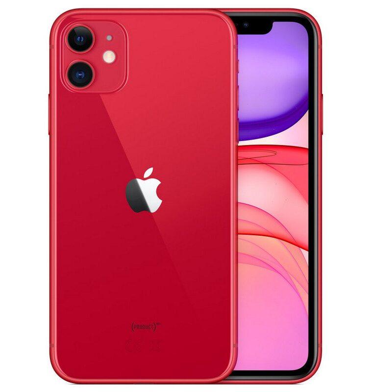 Apple iPhone 11 128GB Rojo