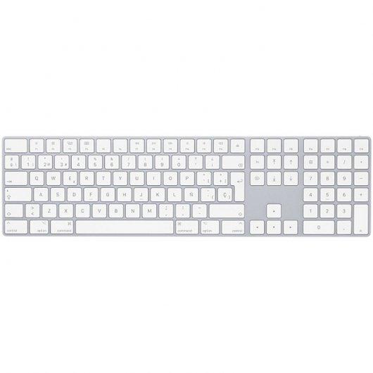 Apple Magic Keyboard con Teclado Numérico Español Blanco