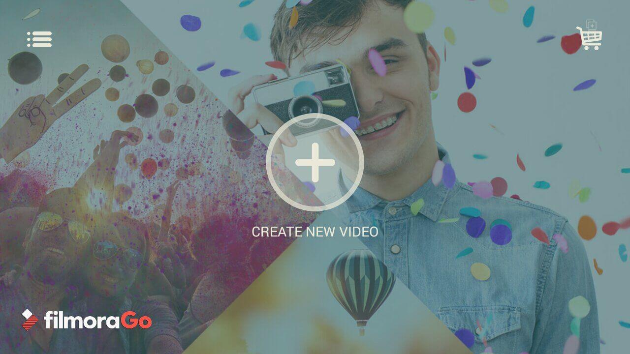 aplicaciones editar vídeos FilmoraGo