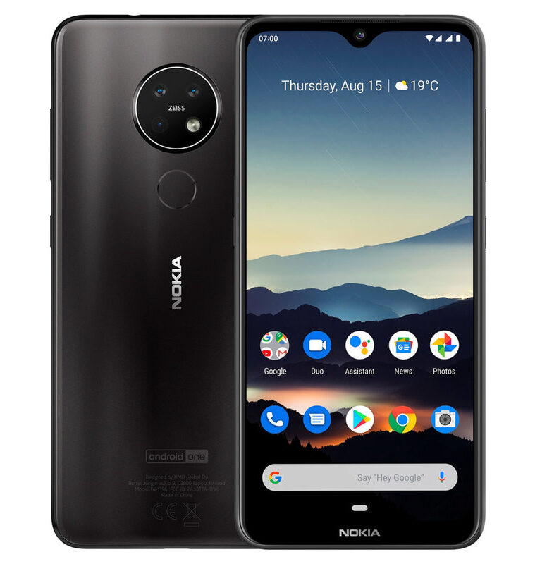 Nokia 7.2 4/64GB Negro