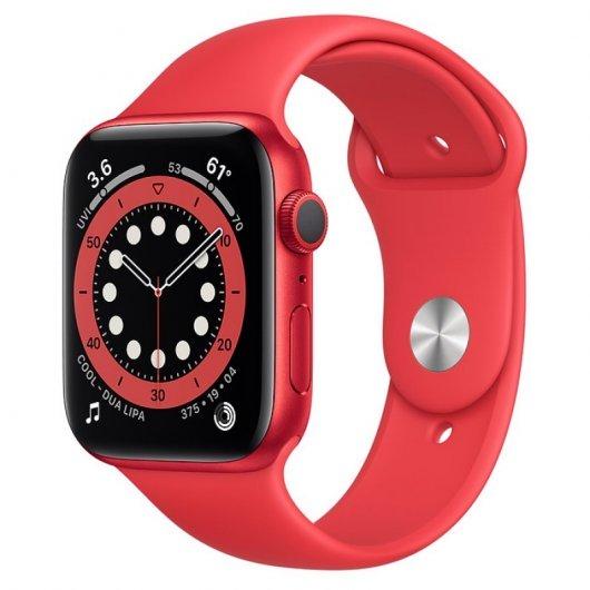 Apple Watch Series 6 GPS 32GB 44mm Rojo