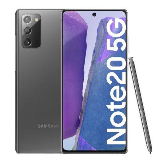 Samsung Galaxy Note 20 5G 8/256GB Gris ABIERTO POR EXHIBICIÓN