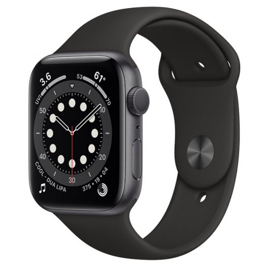 Apple Watch Series 6 GPS 32GB 44mm Negro