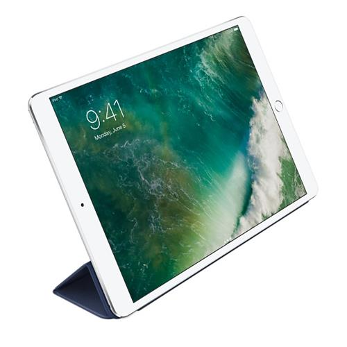 Funda Leather Smart Cover para el iPad (7.a generación) y el iPad Air (3.a generación) - Azul noche