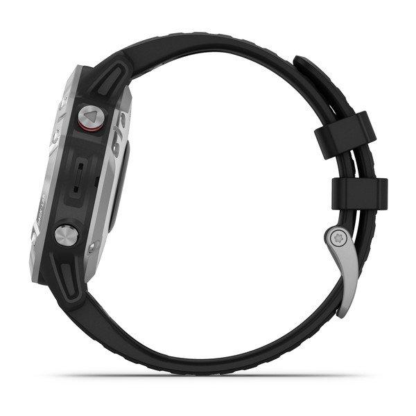 Garmin Fénix 6 47mm Plata/Negro