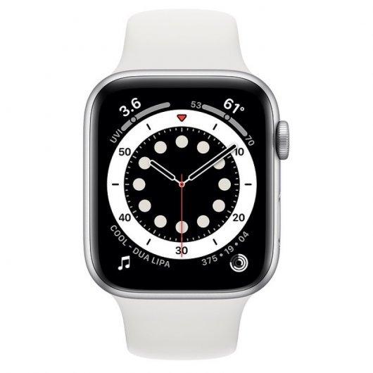 Apple Watch Series 6 GPS 32GB 44mm Blanco