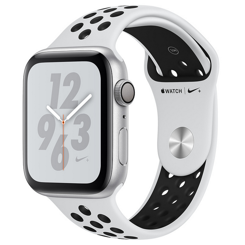 Apple Watch Nike Series 4 16GB 40mm Plata con Correa Deportiva Nike Platino Puro/Negra
