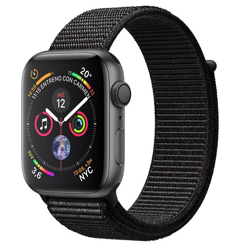 Apple Watch Series 5 32GB 44mm Gris Espacial con Correa Loop Negra
