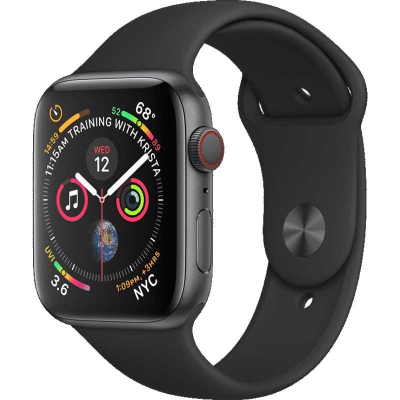 Apple Watch Series 5 32GB 40mm Gris Espacial con Correa Sport Negra
