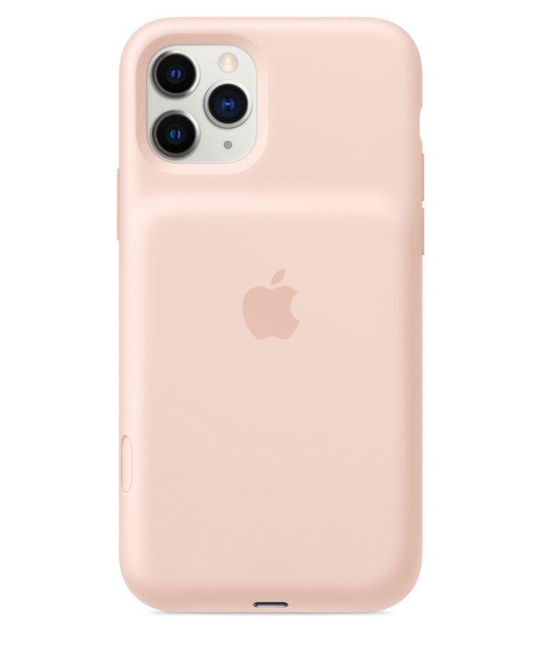Funda Smart Battery Case para el iPhone 11 Pro Rosa arena