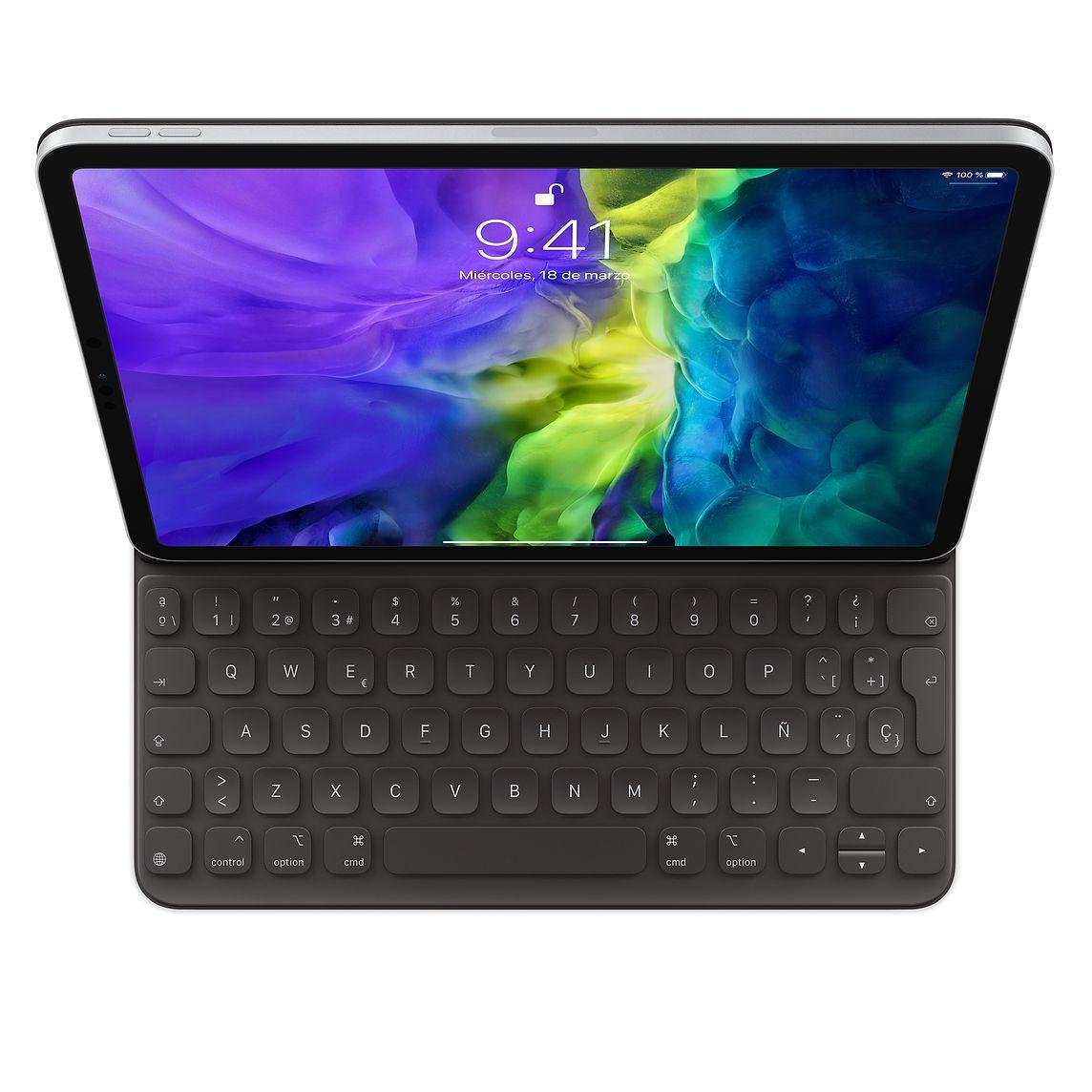 Smart Keyboard Folio para el iPad Pro de 11 pulgadas (2.ª generación) - Español