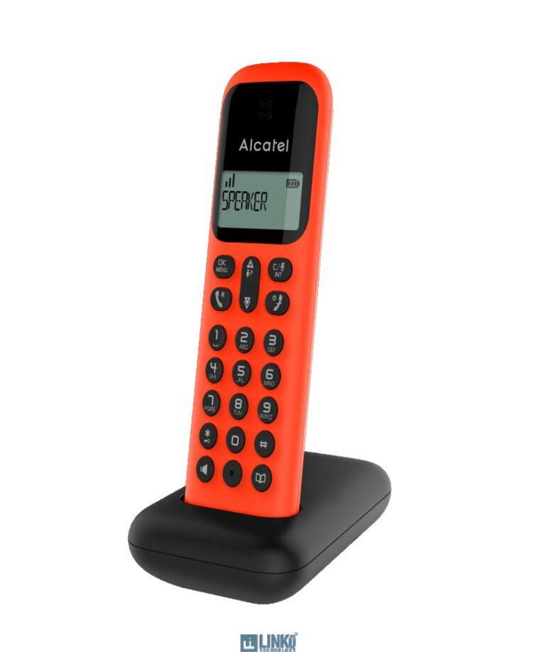 Alcatel DEC D285 Negro/Rojo