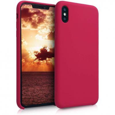 Funda iPhone XS Max Rojo Amaranto