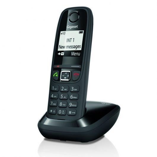 Gigaset AS405 Teléfono Dect Negro