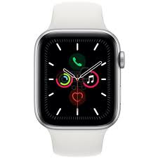 Apple Watch Series 5 32GB 44mm Aluminio con Correa Loop Blanco