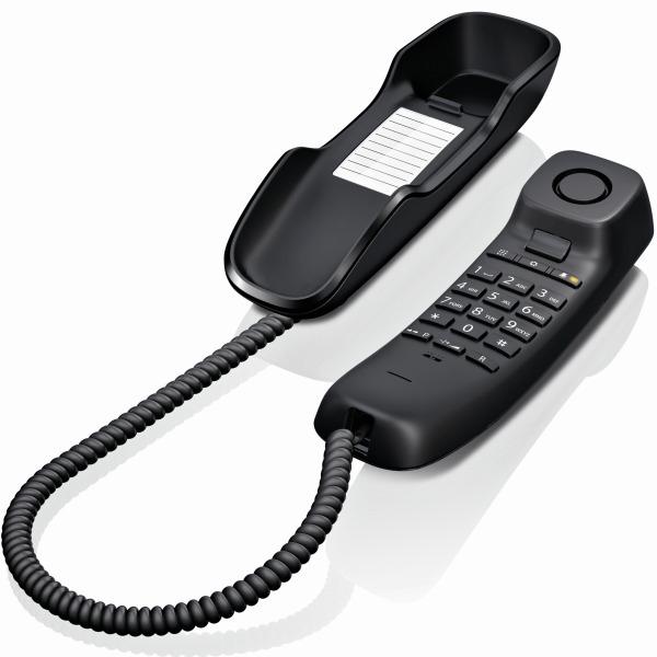 Gigaset DA210 Teléfono Fijo Negro