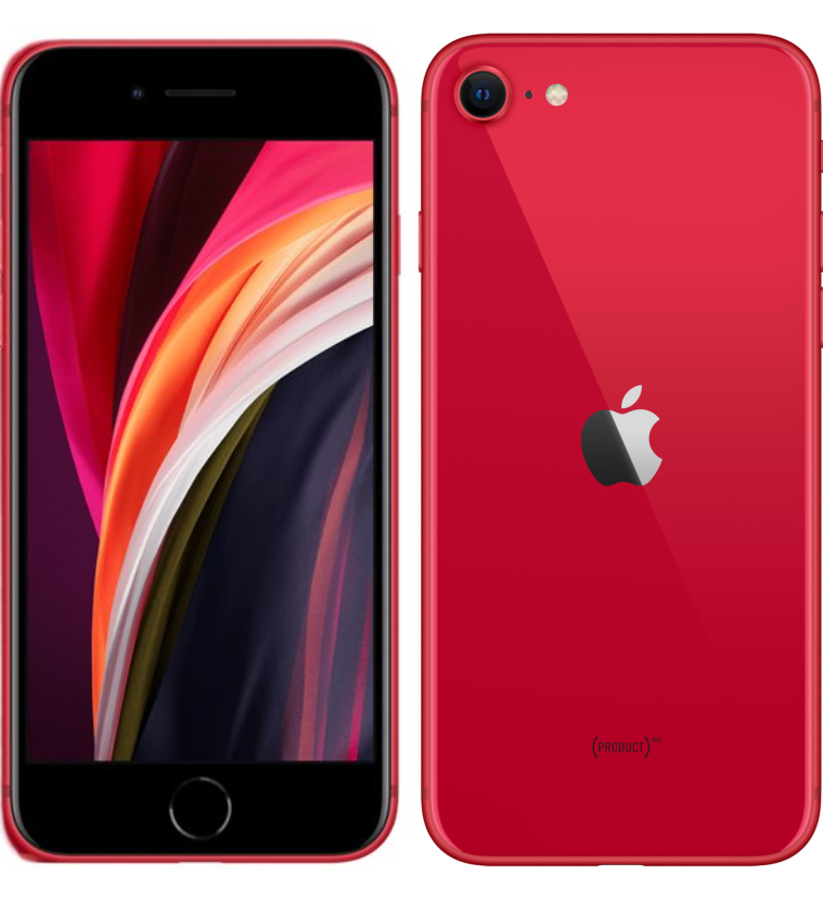 iPhone SE 2020 64GB Rojo