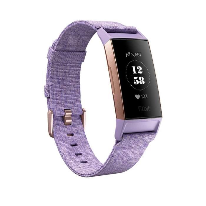 Fitbit Charge 3 SE Textil Lavanda