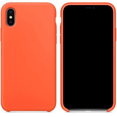 Funda iPhone XS Naranja