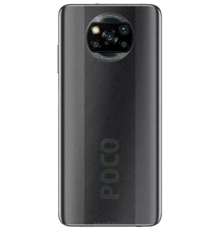 Xiaomi Pocophone X3 NFC 6/64GB Gris Sombra