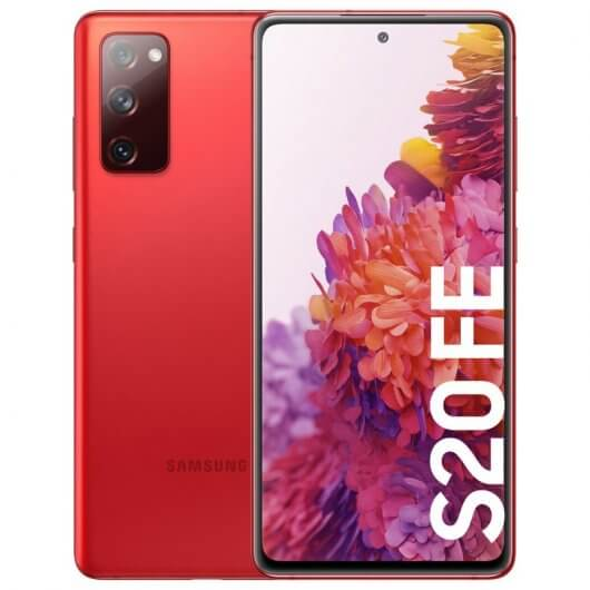 Samsung Galaxy S20 FE 6/128GB Rojo