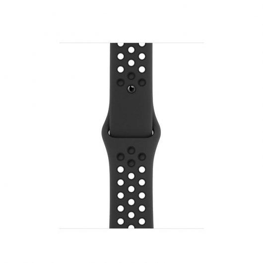 Apple Watch Nike 6 GPS 40mm Aluminio  Gris Espacial-Correa deportiva Antracita/Negra