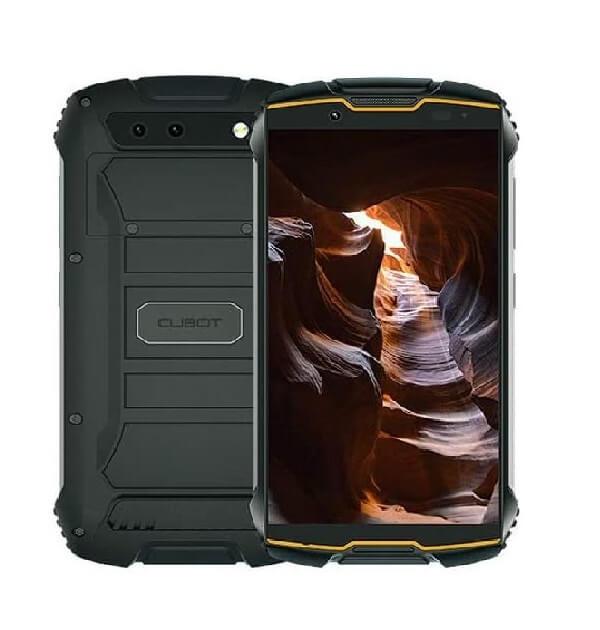 Cubot King Kong Mini 2 4G 32GB Dual-SIM Negro/Naranja
