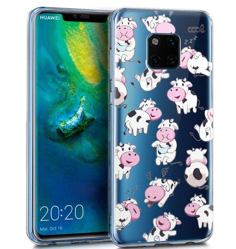 Carcasa Huawei Mate 20 Pro Clear Vacas