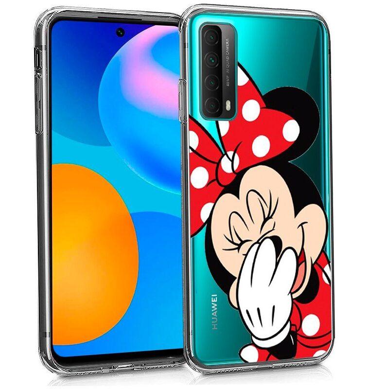 Carcasa Huawei P Smart 2021 Licencia Disney Minnie