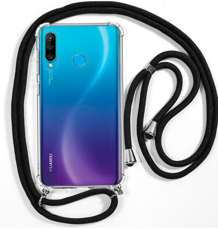 Carcasa Huawei P30 Lite Cordón Negro