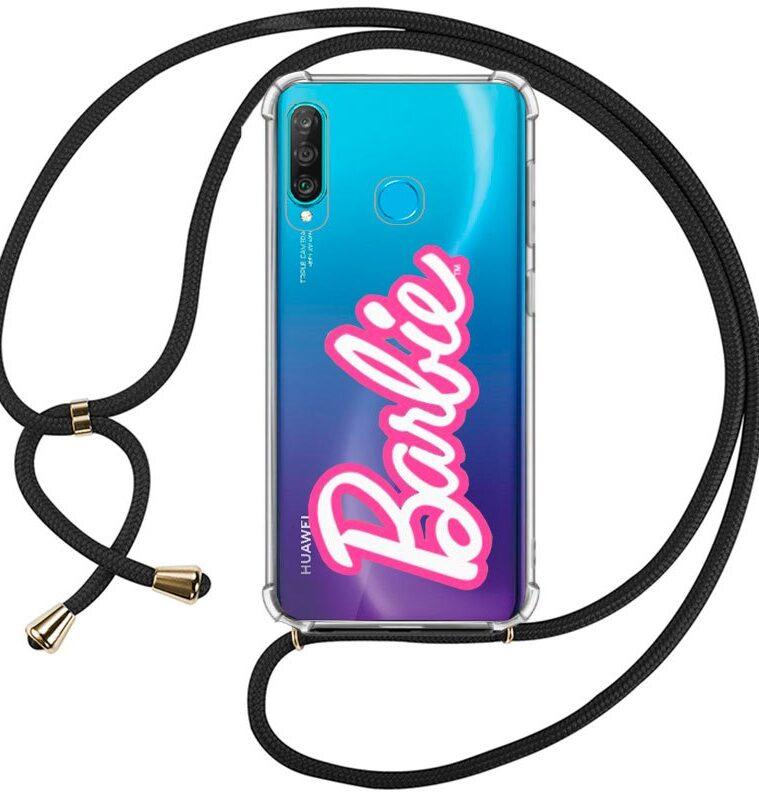 Carcasa Huawei P30 Lite Licencia Barbie Cordón