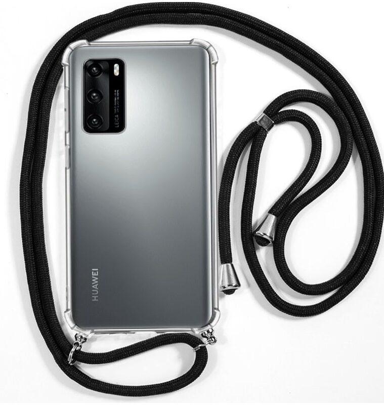 Carcasa Para Huawei P40 Cordón Negro