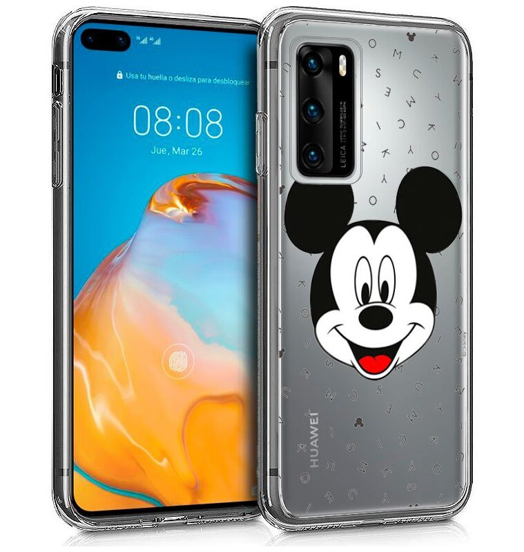 Funda Huawei P40 Pro Licencia Disney Mickey