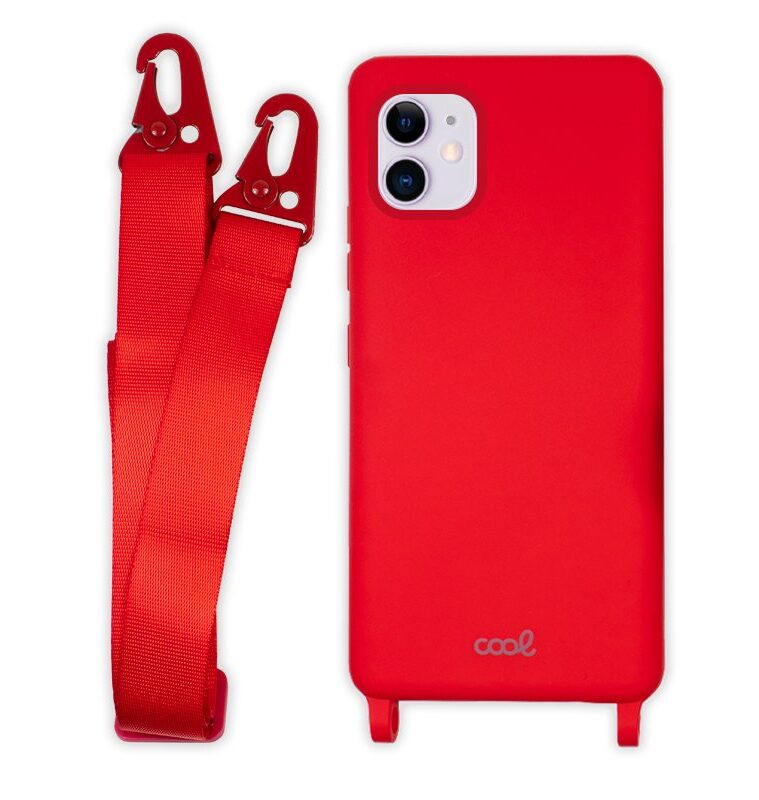 Carcasa IPhone 11 Cinta Rojo