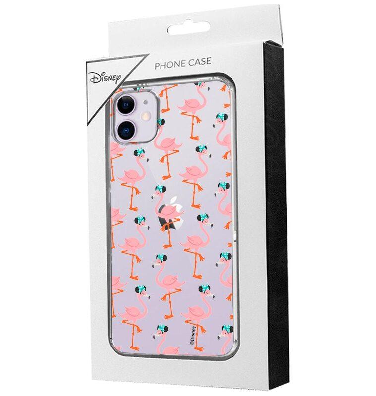Carcasa Para IPhone 11 Licencia Disney Minnie Flamencos