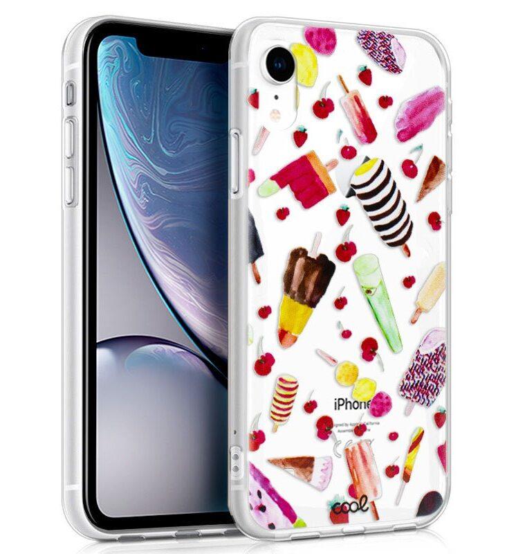 Carcasa Para IPhone XR Clear Helados