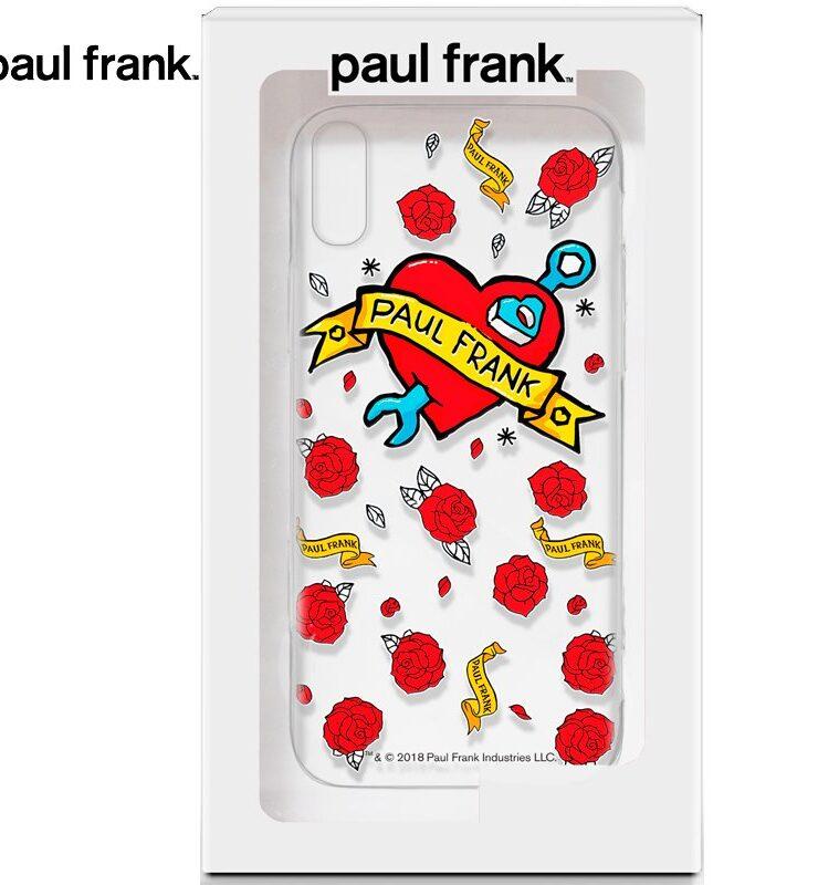 Carcasa Para IPhone XR Licencia Paul Frank Tattoo