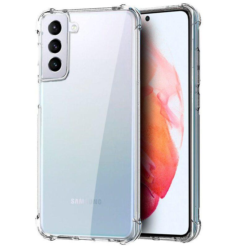 Carcasa Samsung G990 Galaxy S21 AntiShock Transparente