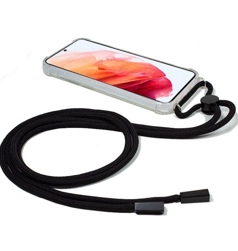 Carcasa Samsung G990 Galaxy S21 Cordón Negro