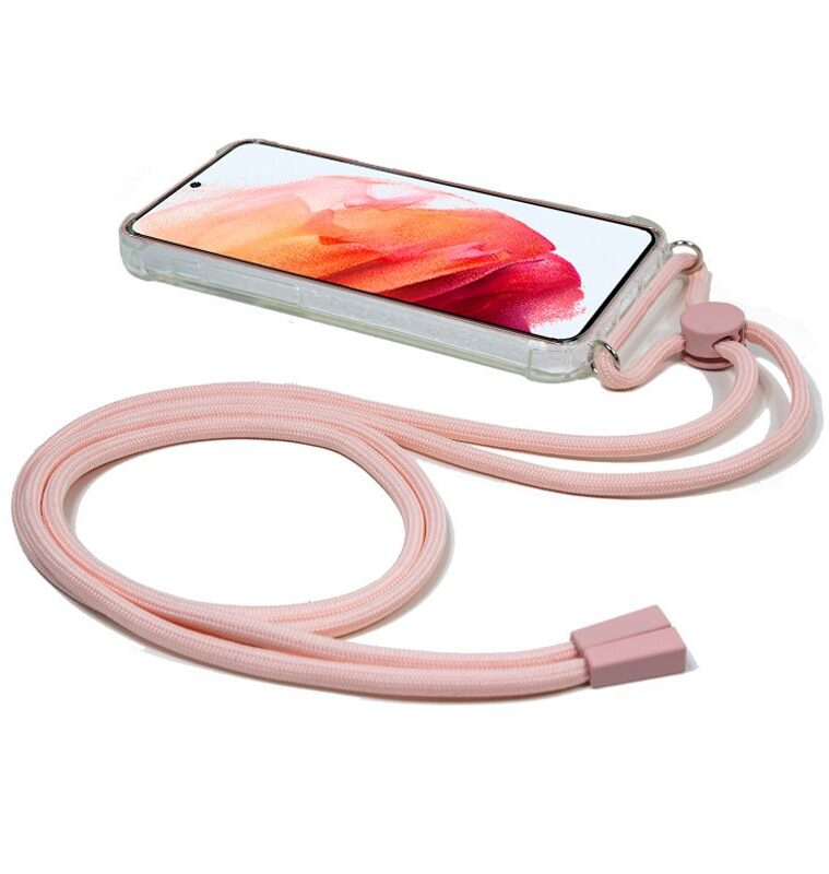 Carcasa Samsung G990 Galaxy S21 Cordón Rosa