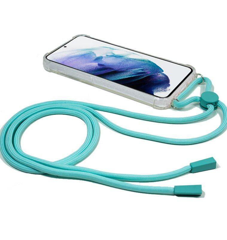 Carcasa Samsung G996 Galaxy S21 Plus Cordón Celeste