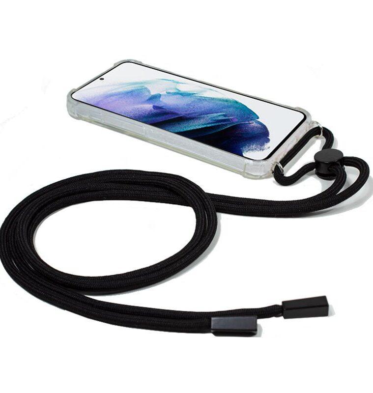 Carcasa Samsung G996 Galaxy S21 Plus Cordón Negro