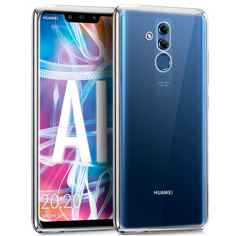 Carcasa Huawei Mate 20 Lite Borde Metalizado (Plata)