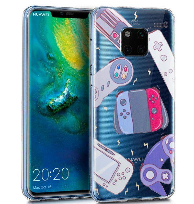 Carcasa Huawei Mate 20 Pro Clear Consolas