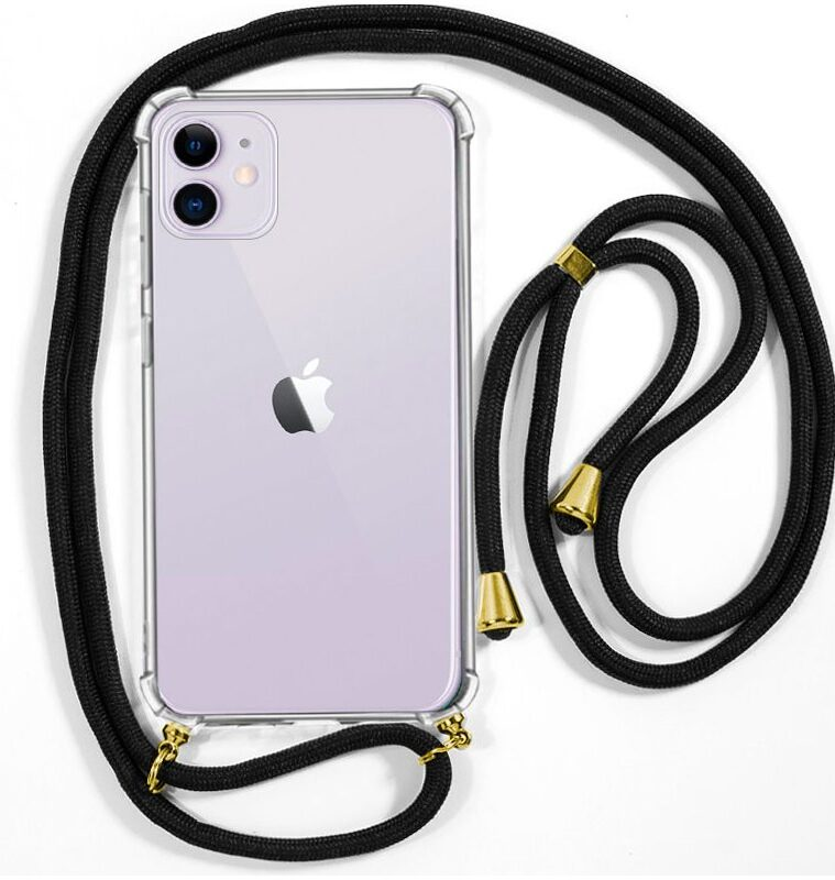 Carcasa IPhone 11 Cordón Negro