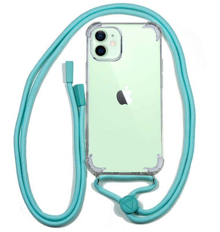 Carcasa IPhone 12 / 12 Pro Cordón Celeste