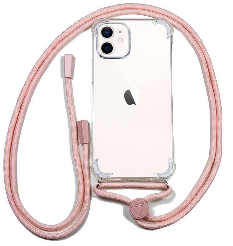 Carcasa IPhone 12 Mini Cordón Rosa